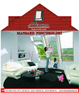 Faktro Mansard Pencereleri